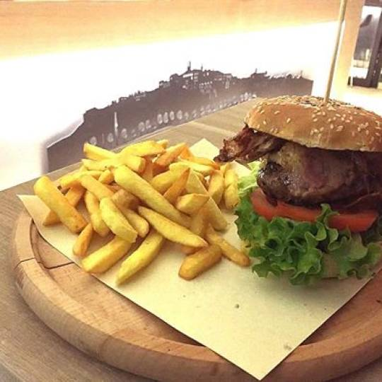 Hamburguer 100% Chianina